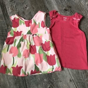 Gymboree Swing Top T Size 7